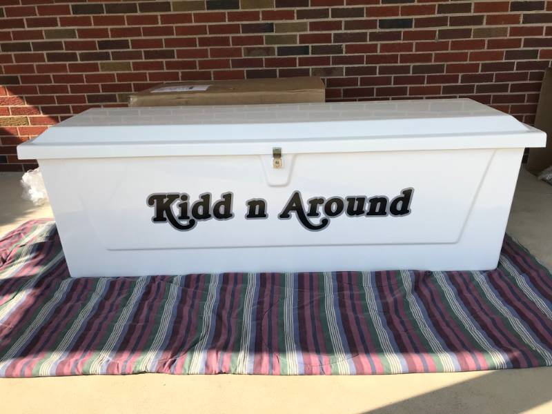 2021 Boat name sticker Lettering from Carol K, OH