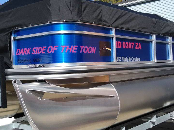 2021 LOWE 182 FISH & CRUISE PONTOON BOAT Lettering from STEVEN W, ID
