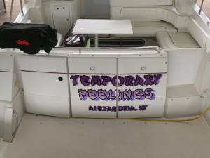 97' Larson Cabrio 310 Boat Lettering from Micheal T, KY