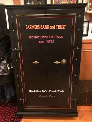 1903 Antique Safe Lettering from David B, IN