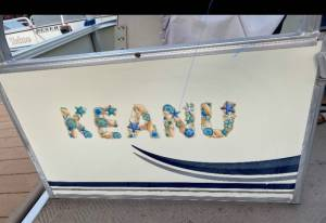 Pontoon Boat Lettering from Angela B, AZ