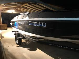 2019 Bayliner E18 Fish Boat Lettering from Adam D, AZ