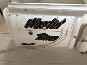1998 cruisers yachts 3375 esprit  Boat  Lettering from Holly S, TX