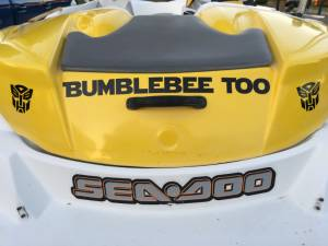 2004 Seadoo Sportster Jet Boat Lettering from Timothy C, FL