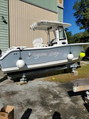 2018 Sea Hunt 255 ultra SE Boat Lettering from Chip K, SC