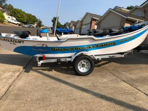 2018 Clackacraft, Clackamax  Boat Lettering from Mitchell  B, OR