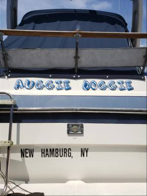 Bayliner Boat Lettering from Thomas D, NY