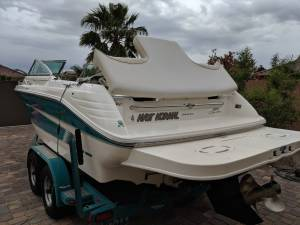 95' Searay Signature 220 Boat Lettering from Jason B, NV