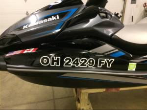 2019 Kawasaki Ultra LX Jet Ski Lettering from Mark  W, OH