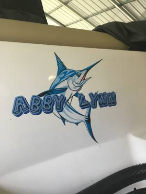 2018 232 sportsman boat Lettering from Tony C, AL