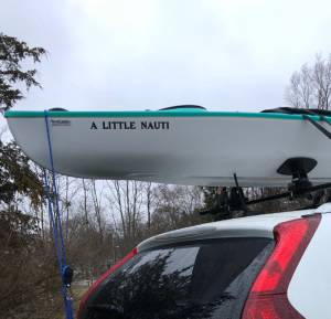 Hurricane Santee  Kayak  Lettering from Lisa C, NY