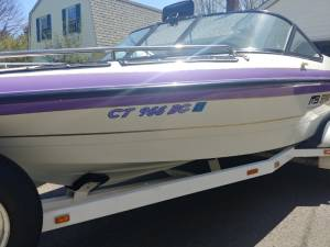 1996 MB Sports Boss 210 Boat Lettering from Chris R, CT