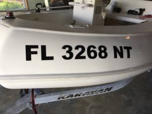 2008 Rigid Sport Tender Dinghy Lettering from John E, FL
