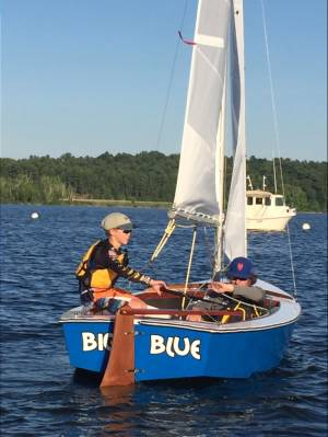 Blue Jay Boat  Lettering from MISCHA V, CT