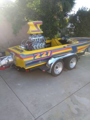 1978 Cole TR-6 It a cole panther TR6 quarter mile jet drag boat Lettering from Charles N, CA