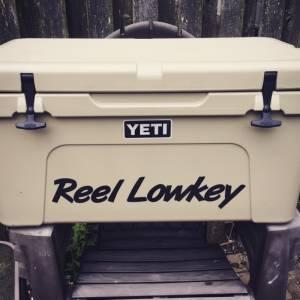 Tundra 65 Yeti Cooler Lettering from Paul L, AK