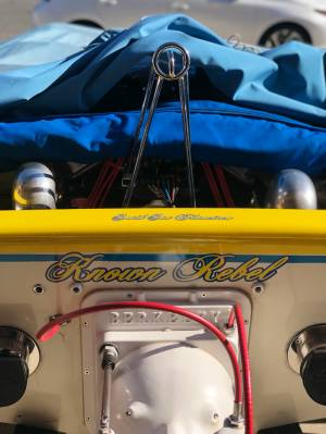 1973 sleekcraft Rebel. Jet boat Lettering from Jason S, CA