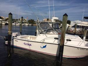 1997 Mako 293 Boat Lettering from Rudolph F, FL