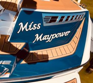 2020 Super Air Nautique 210 Boat Lettering from Scott M, TX
