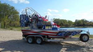 Airboat American Flag Wrap-2