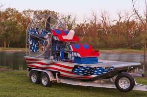 Airboat American Flag Wrap-3