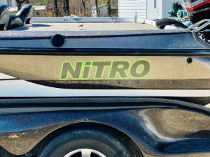 2001 nitro bass boat 21 ft Boat Lettering from Brandi Y, MO