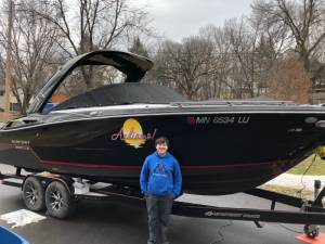 2018 Monterey 278SS Boat Lettering from Stephen C, MN