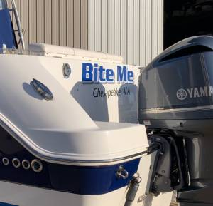 2013 Robalo R305 Boat Lettering from Jerry F, VA