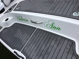 2019 Yamaha AR240 Boat Lettering from Ben H, ID