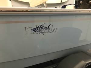 2020 Boston Whaler Montauk 170 Boat Lettering from Timothy W, NC