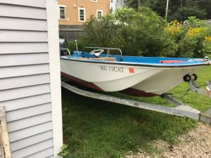 1969 Boston Whaler Boat Lettering from Dana R, ME