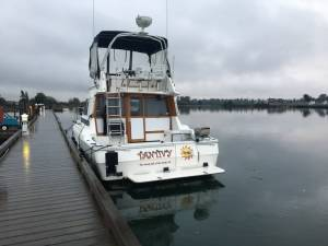 88 Bayliner 3460 Boat Lettering from William  P, WA