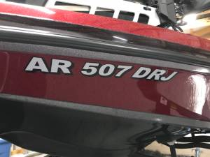 Bass boat Boat Lettering from Jamie G, AR