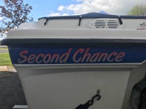 2006 bayliner 185 bowrider  Boat Lettering from Peter R O, NY