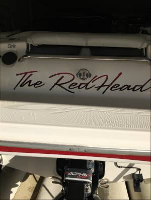 Bayliner  Boat Lettering from Darran B, MO