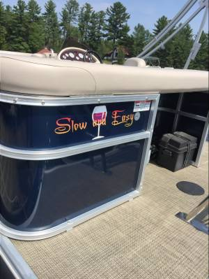 2017 Starcraft New Pontoon boat  Lettering from steve l, NJ