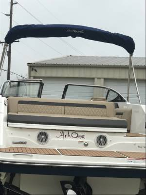 2017 SeaRay 250slx.   Boat Lettering from Joan O, IL