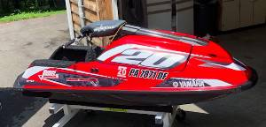 2010 Yamaha Super Jet  PWC Lettering from Ryan R, PA