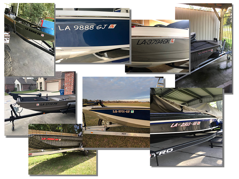 Louisiana Boat Registration Number