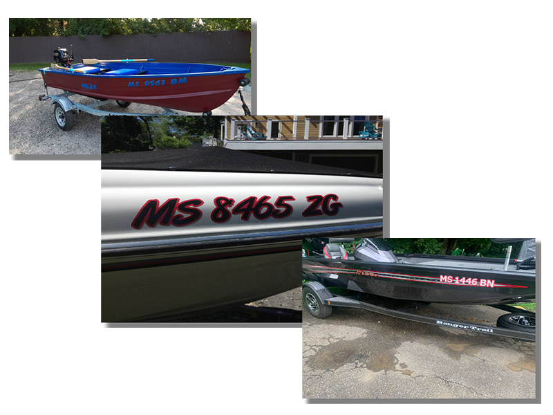 Massachusetts Boat Registration Number