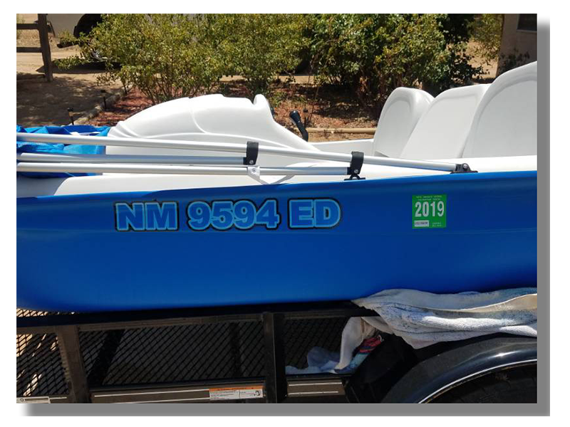 New Mexico Boat Registration Number