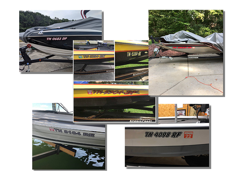 Tennessee Boat Registration Number