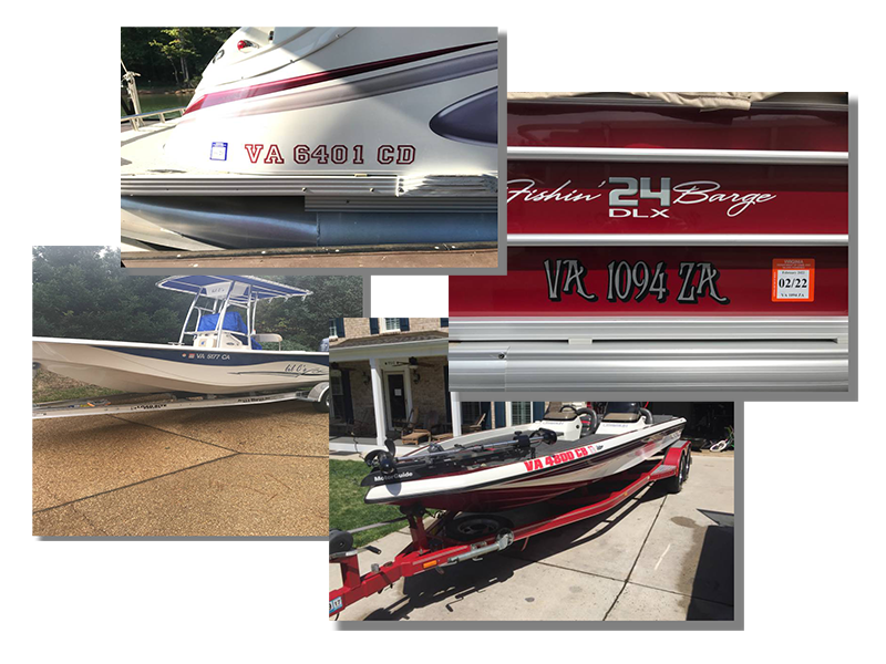 Virginia Boat Registration Number